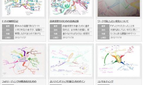 1000枚超のマインドマップ『マインドマップアーカイブ』、公開です!