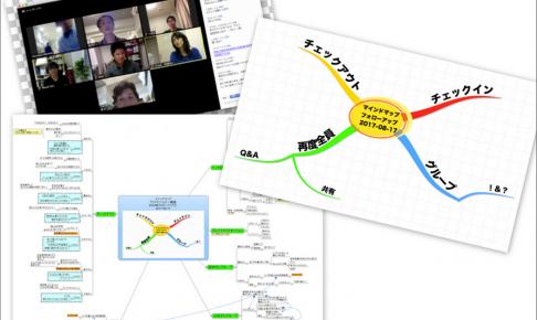 マインドマップのオンラインフォローアップ、初の試み