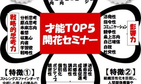 10月20日:岡山にてストレングスファインダー®ワークショップ開催決定!