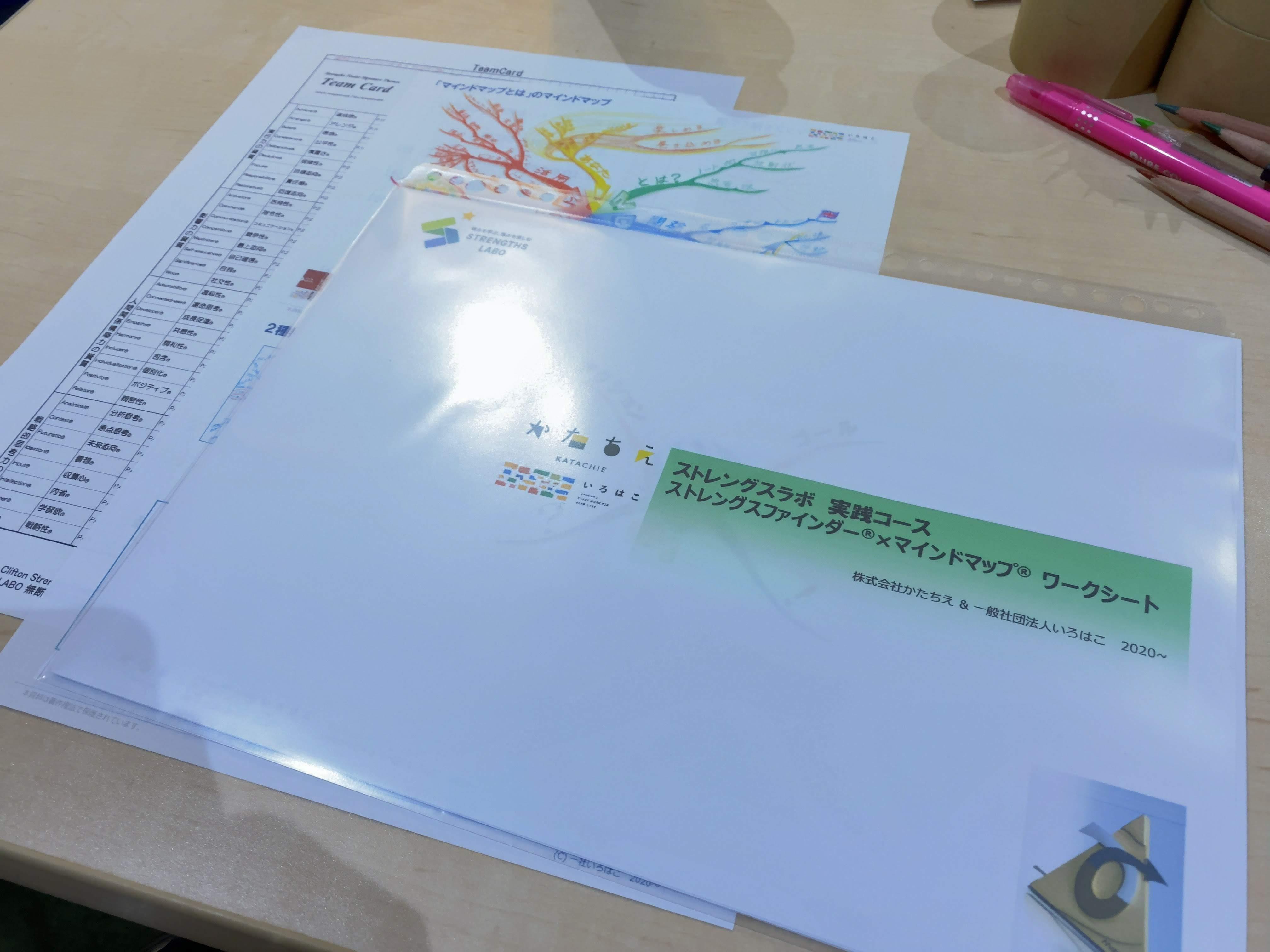 【開催報告】マインドマップ×ストレングスファインダーで、自分を知り、相手を理解する見取り図を手にできる!